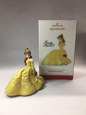 Hallmark Disney Beauty and the Beast 美女與野獸擺件吊飾