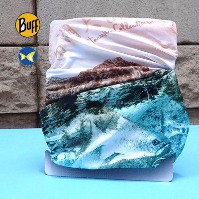 開發票 西班牙 BUFF Coolnet 抗UV頭巾 台灣五嶽系列 南湖大山 櫻花鉤吻鮭,台灣五岳