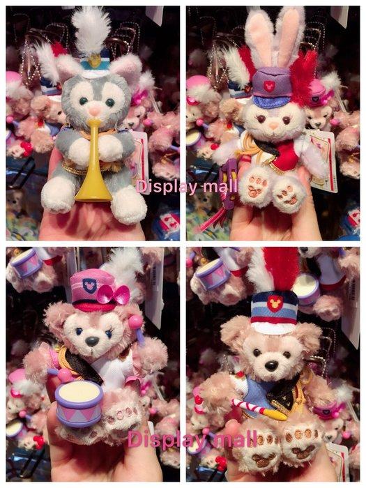 達菲迪士尼Duffy達菲熊雪莉玫史黛拉畫家貓坐姿吊飾迪士尼樂園35週年海洋迪士尼特惠價539元Display