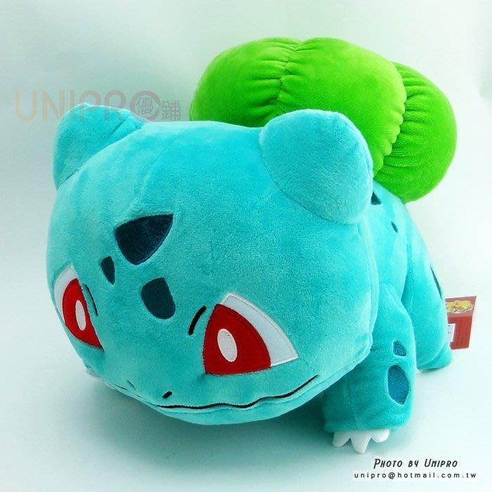 【UNIPRO】神奇寶貝 XY 妙蛙種子 Bullbasaur 30公分 絨毛娃娃 玩偶 禮物 正版授權 寶可夢 Pok