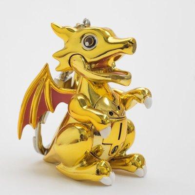 尼德斯Nydus~* 日本正版 Puzzle Dragons 龍族拼圖 PAD P&D 金龍 轉蛋機 吊飾