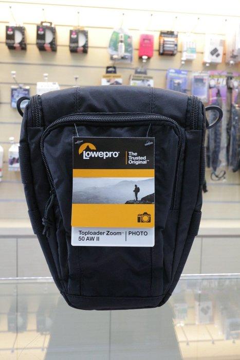 【日產旗艦】Lowepro Toploader Zoom 50AW 50 AW II 附雨衣 三角包 槍包 相機包