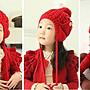 【小阿霏】寶寶兒童女童男童純色鈕扣護耳帽...