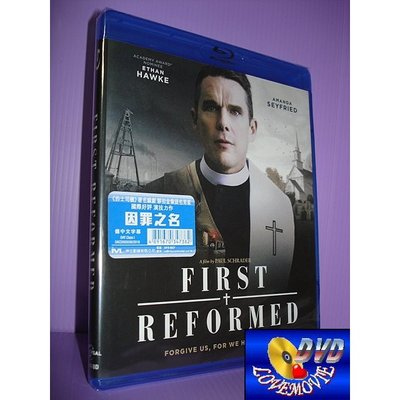 A區Blu-ray藍光正版【牧師的最後誘惑/因罪之名First Reformed (2017)】[含中文字幕]全新未拆