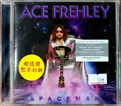 【搖滾帝國】美國知名重金屬(Heavy Metal)樂手 ACE FREHLEY -Spaceman 2018發行專輯