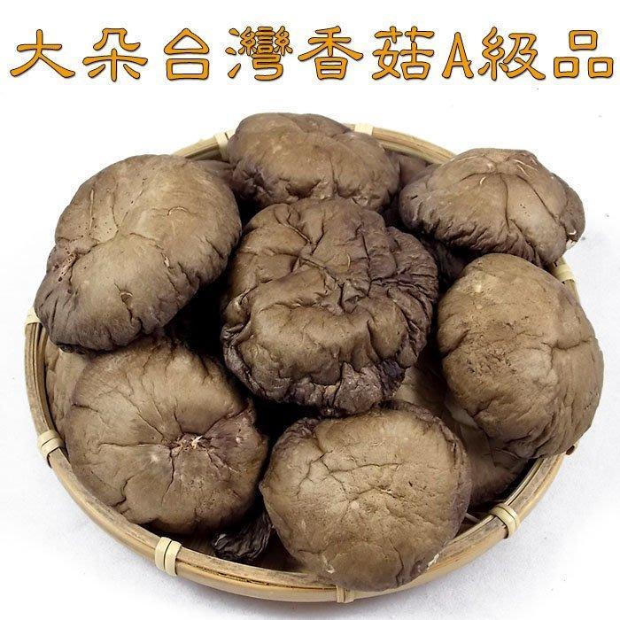 ~大朵台灣香菇(一斤裝)A級品~ 正港台灣香菇,黑早品種,黑皮香菇,品質好,味道香,送禮自用兩相宜!【豐產香菇行】