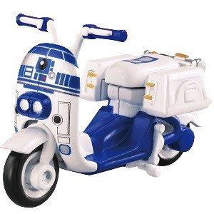 41+現貨免運費 正日版 TOMY TOMICA 多美小汽車 星際大戰 R2-D2 摩托車 機車 STAR WARS