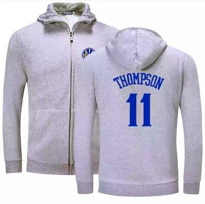 🔥湯普森Klay Thompson純棉運動厚外套🔥NBA球衣勇士隊Nike耐克愛迪達棒球籃球風衣休閒薄夾克男女734