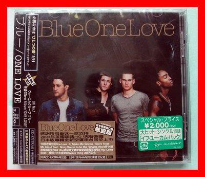 ◎2003全新日本版CD+豪華特典未拆!Blue (5)合唱團-One Love專輯-等17首好歌-加收冠軍曲等-團體