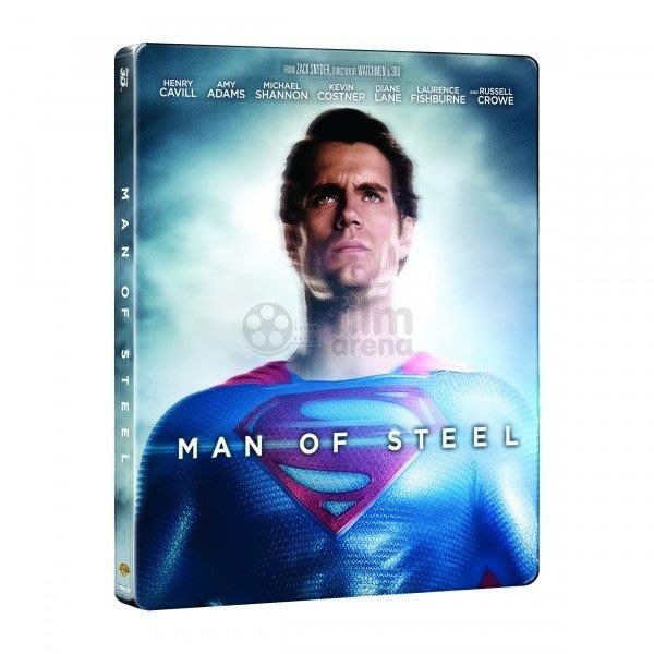 毛毛小舖--藍光BD 超人:鋼鐵英雄 Man of Steel 3D 2D 雙碟 鐵盒版