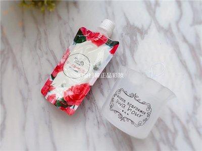 Qte日韓正品彩妝玫瑰香味浪漫泡泡| 日本roocy玫瑰泡沫洗顏泥120g| 送起泡器