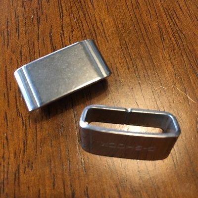 【錶帶家】『最耐用』22mm 收尾卡西歐 CASIO G-SHOCK SEIKO 及各表款可用不鏽鋼錶帶圈錶扣環固定圈環