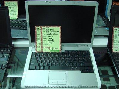 二手筆電特賣DELL 640M(雙核T2050/4GB/320GB/DVD 燒/WIN 7),$3500