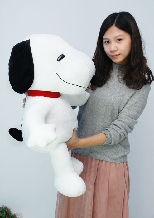 可愛俏皮狗娃娃~高約73公分~俏皮狗玩偶~最受歡迎玩偶