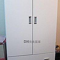 【DH】U002 {康妮}3X7尺木心板衣櫃,門片有緩衝功能。另有3X6。全新設計。主要地區免運費。
