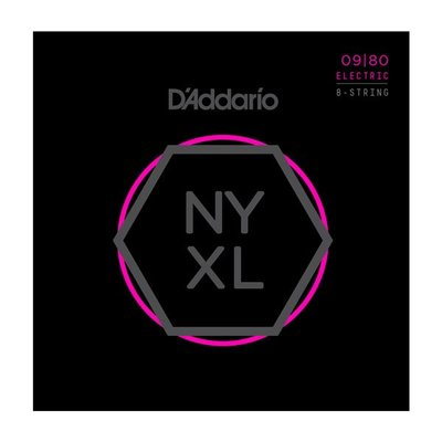 【又昇樂器 . 音響】D'Addario NYXL 0980 Nickel Wound 電吉他弦 八弦