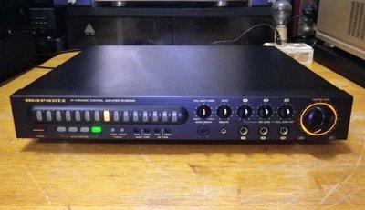 日本製 MARANTZ(馬蘭士) SC395AVK 卡拉OK/混音/回音/升降KEY 前級擴大機