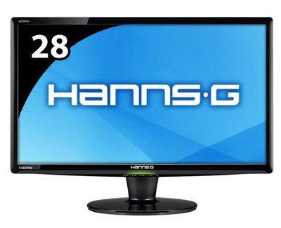 永和 二手 中古 螢幕 液晶 Hanns 28吋螢幕 16:10 HDMI  22吋 24吋售 舊螢幕可以折價喔