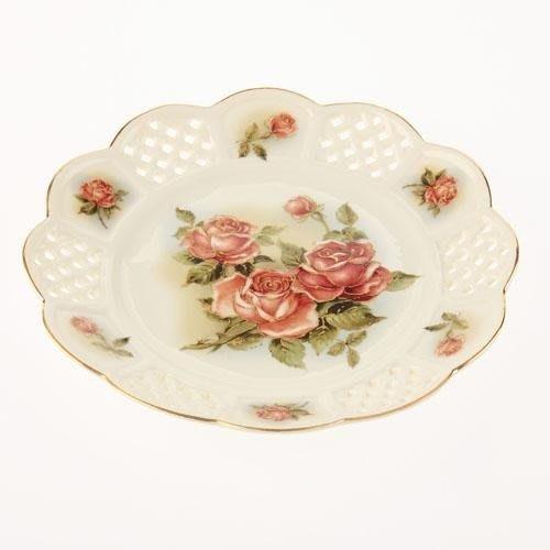 日本【黃金玫瑰 Gold Rose】蛋糕盤