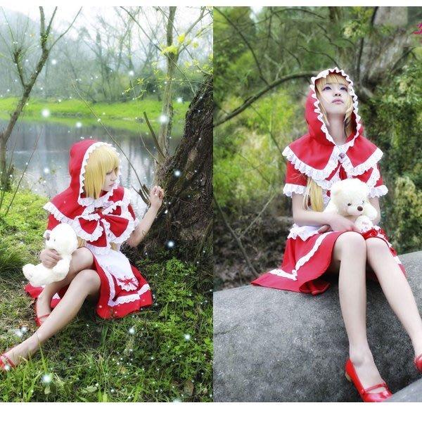5Cgo【鴿樓】會員有優惠 43026471750 cos 英雄聯盟 LOL 小紅帽 安妮 cosplay服裝 動漫角色