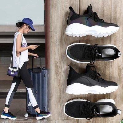 【May Cool】女鞋春季新款 運動鞋 女韓版ulzzang 原宿風百搭休閒鞋 女跑步鞋