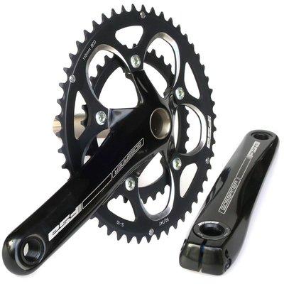 自行車配件 腳踏車配件 FSA GOSSAMER 公路車 小折改裝 50/34T CT盤 一體式 牙盤組 良品優舍