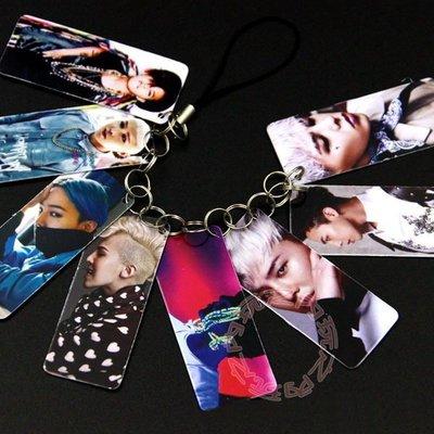 現貨出清特價👍GD 權志龍 照片PVC照片串卡吊飾 卡串照片小卡手機鍊E01-B【玩之內】韓國 BIGBANG