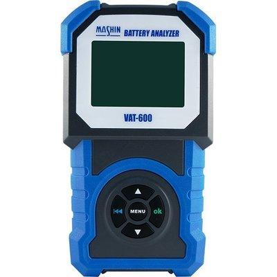 麻新經銷商-羽任 麻新VAT-600 電池測試器 電瓶 發電機 啟動馬達 VAT600可測100~2000CCA