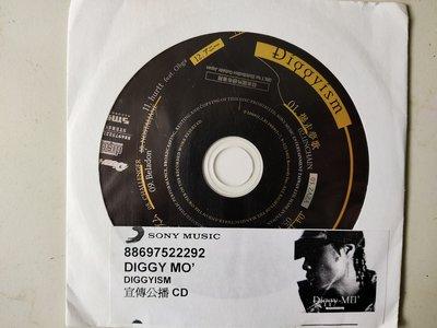 二手裸片CD~日本男歌手Diggy Mo(Diggyism)保存良好CD無刮