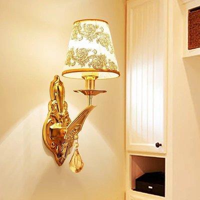 壁燈現代簡約LED床頭燈臥室創意歐式美式客廳樓梯過道客廳燈具