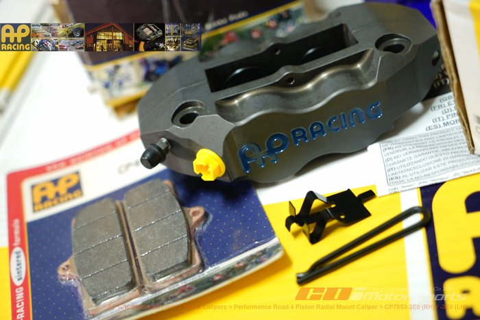 AP RACING CP-7853-2E0/3E0 (LH) 四活塞卡鉗 CNC輻射卡鉗 英國原裝卡鉗  / 制動改