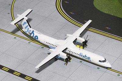 **飛行夢想家**GeminiJets1:200航空 Flybe British European Bombardier