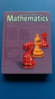 hs47554351 美國學校 Houghton Mifflin Mathematics 0618-099-794