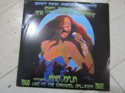 Big Brother The Holding Company featuring JanisJoplin2LP黑膠
