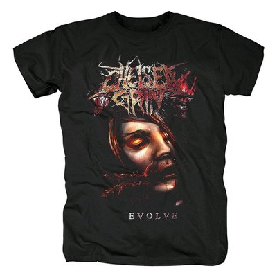 新品 Chelsea Grin  美式 恐怖,戰栗 死核 重金屬短袖黑色T恤