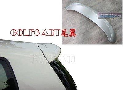 【KoSoKu 高速空力 】 福斯 V.W. GOLF6 GOLF 6  6代 MK6 ABT 尾翼 ABT尾~實車改~