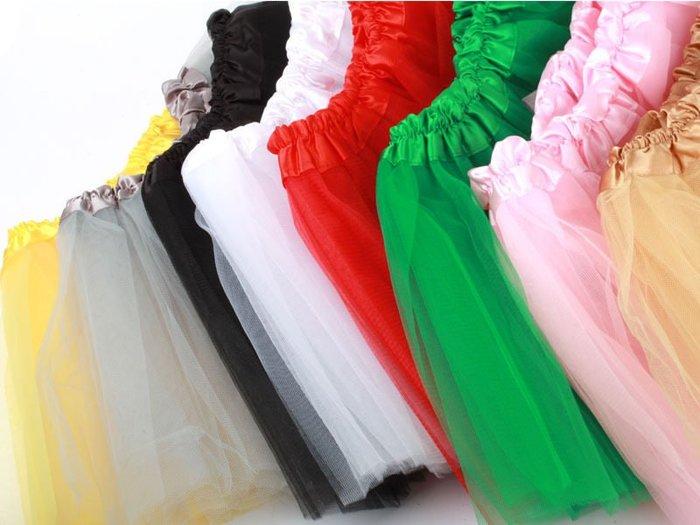 [GIFUTO] 兒童女童 三層網紗裙 蛋糕裙蓬蓬裙 公主裙表演裙 - 多色可選