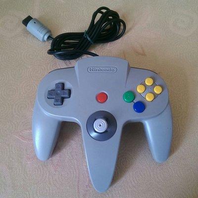 N64 手把 (原廠) 灰色 編號A