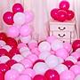 戀物星球 氣球裝飾批發結婚用品免郵兒童生日派對多款婚慶婚房創意場景布置