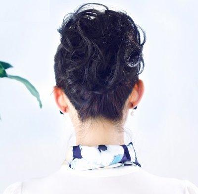 女假髮 假髮片 假馬尾 - 爪夾式馬尾 時尚新娘髮髻 逼真自然 仿真 8色 【不然飾】OTRG