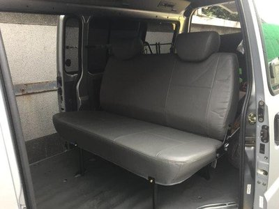 明耀汽車~三菱 得利卡 箱車(貨車版) 專用第二排座椅 (快拆式)