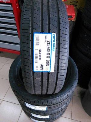 CY輪胎~TOYO東洋輪胎 NE03 215/45/17