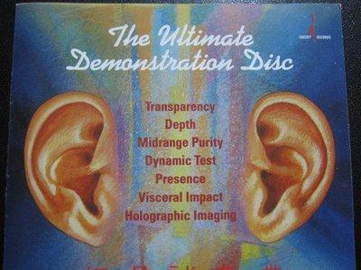 [真的好CD] 兩支耳朵 終極音響測試天尊 The Ultimate Demonstration Disc
