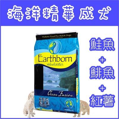 **貓狗大王**原野優越Earthborn《海洋精華成犬(鮭魚+鯡魚+紅薯)》5磅