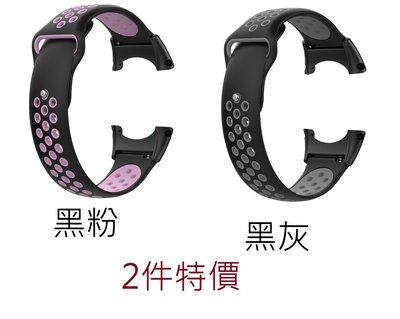KINGCASE (現貨) 2件特價 Suunto Core all black 矽膠軟膠 雙色 錶帶