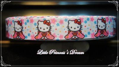 Hello Kitty 22mm 和服...