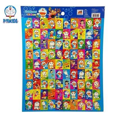 哆啦A夢 大張貼紙 方形 10-R ~ 多啦a夢 小叮噹 哆拉A夢 可貼 行事曆 手冊 筆記本 便條紙 貼紙收集冊