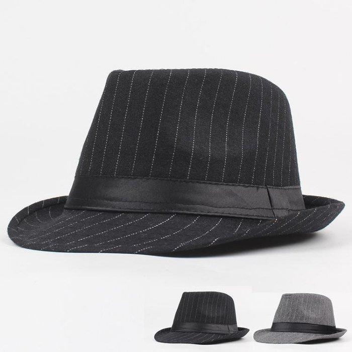 男帽子 紳士帽 秋冬戶外棉滌韓版潮時尚爵士帽英倫舞臺表演帽禮帽yx435