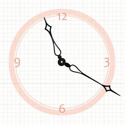 【鐘點站】 J161115  SKP壓針機芯 / 分針16.1公分 時針11.5公分 / DIY 時鐘 掛鐘 鐘針