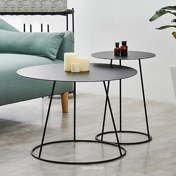 【Uluru】北歐風格 黑色簡約邊几 可收納邊桌 空間沙發邊几 側邊桌 床頭桌 沙發邊桌 置物桌 展示桌 設計師款